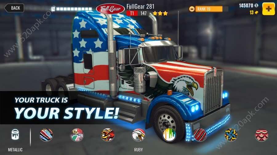重型卡�拉力��o限金�胖形钠平獍妫�Big Truck Drag Racing含���包)�D片2
