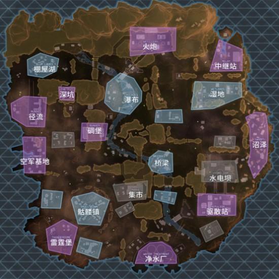 apex英雄地图物资分布大全 地图物资分布汇总[图]