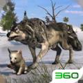 野狼生存模拟无敌内购破解版下载 v1.0