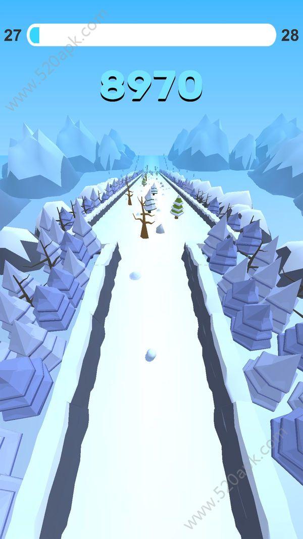 翻滚吧雪球游戏官方安卓版(Go Snowball)  v1.0图2