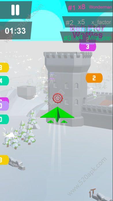 纸飞机大作战游戏中文安卓版(Jet.io)  v1.0图3