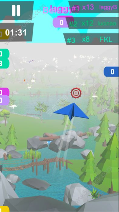 纸飞机大作战游戏中文安卓版(Jet.io)图片1