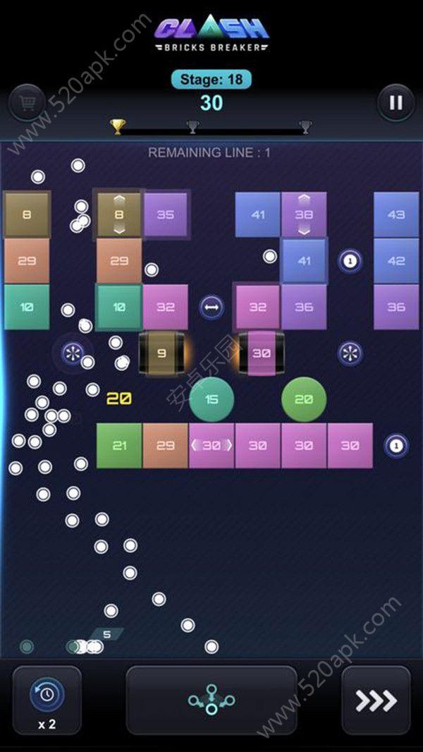 砖块破碎闪击战必赢亚洲56.net最新必赢亚洲56.net手机版版  v1.0图1