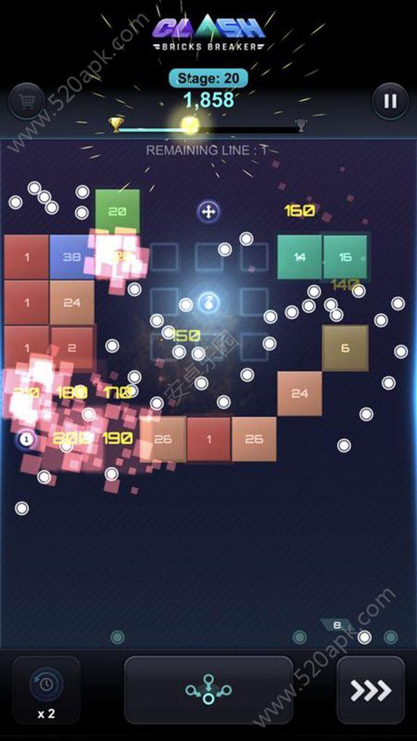 砖块破碎闪击战必赢亚洲56.net最新必赢亚洲56.net手机版版  v1.0图3