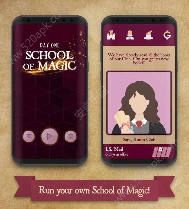 魔法学校游戏官方中文版(School of Magic)图片1