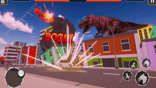 恐龙摧毁城市必赢亚洲56.net必赢亚洲56.net手机版版  v1.0图2