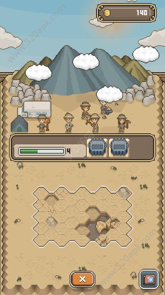 我的化石博物馆中文汉化无限金币破解版(tap dig my museum)  V1.0图3