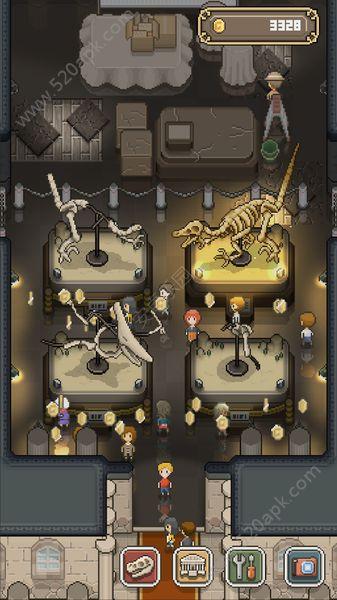 我的化石博物馆中文汉化无限金币破解版(tap dig my museum)  V1.0图2