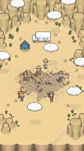 我的化石博物馆中文汉化无限金币破解版(tap dig my museum)图片1
