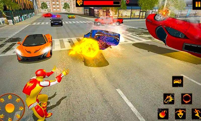 火焰英雄求生无限金币内购破解版  v1.0图3