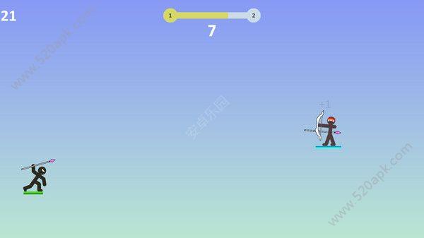 火柴人掷矛英雄游戏官方安卓版  v1.0.0图2