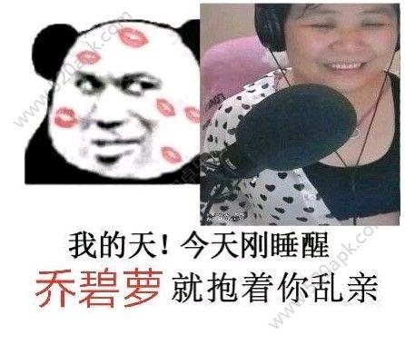 斗鱼乔碧萝殿下网恋选我表情包图片下载  v1.0图2