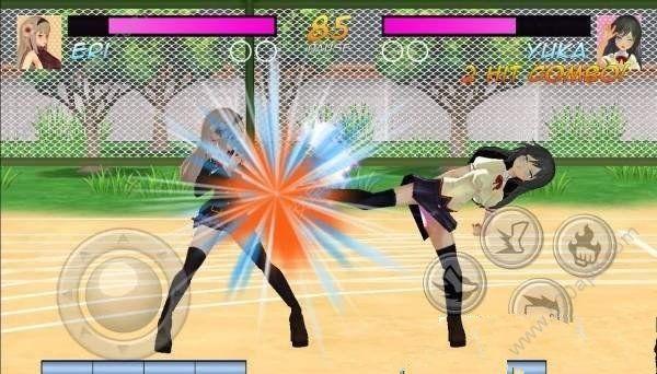 高中女生格斗模拟器中文无敌修改破解版图片1