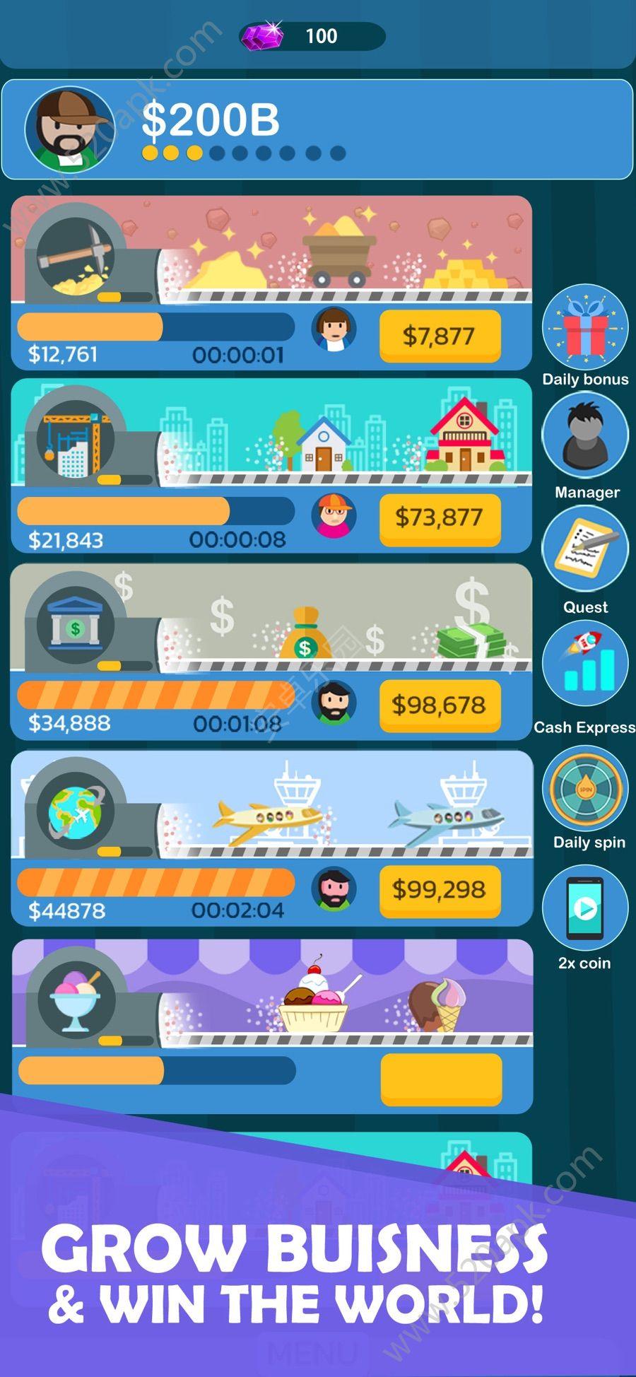 放置亿万富翁官方下载游戏安卓版  v1.0图3