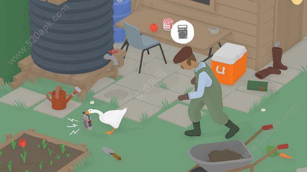 捣蛋鹅游戏官方中文汉化版(Untitled Goose Game)图片3