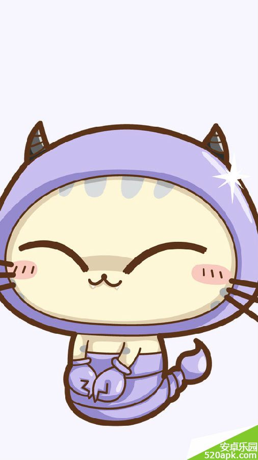 cc猫可爱卡通手机壁纸540*960[多图]