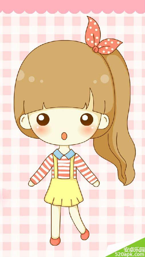 可爱卡通图片萌版女生头像手机壁纸640*1136[多图]