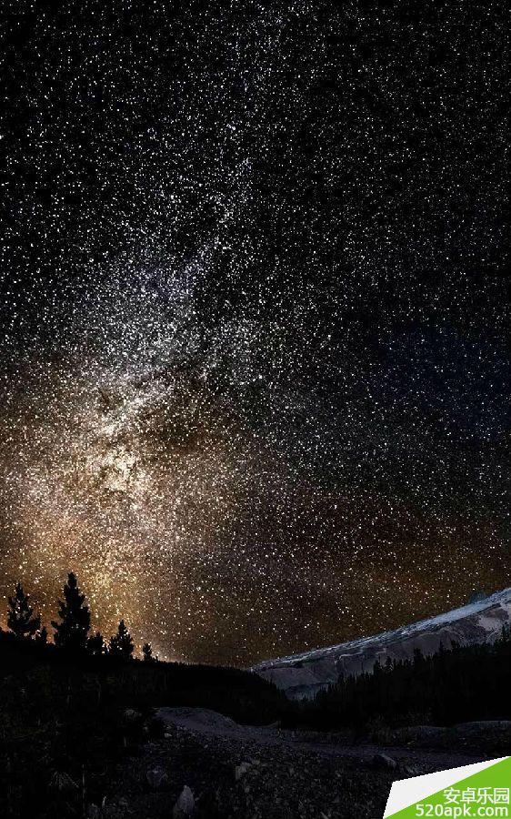 唯美宇宙星空图片高清手机壁纸800*1280[多图]