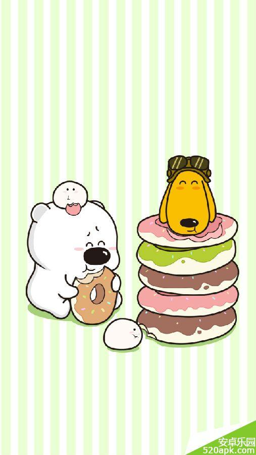 熊超可爱手机壁纸640*1136[多图]