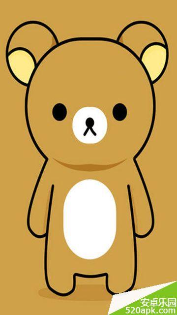 轻松熊和小黄鸡大全卡通可爱壁纸360*640[多图]