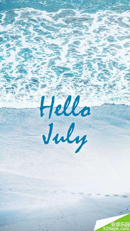 你好七月高清手机壁纸800*1280[多图]