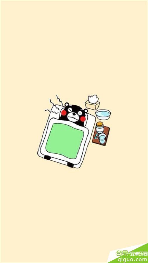 日本萌物熊本熊可爱手机桌面壁纸640*1136[多图]