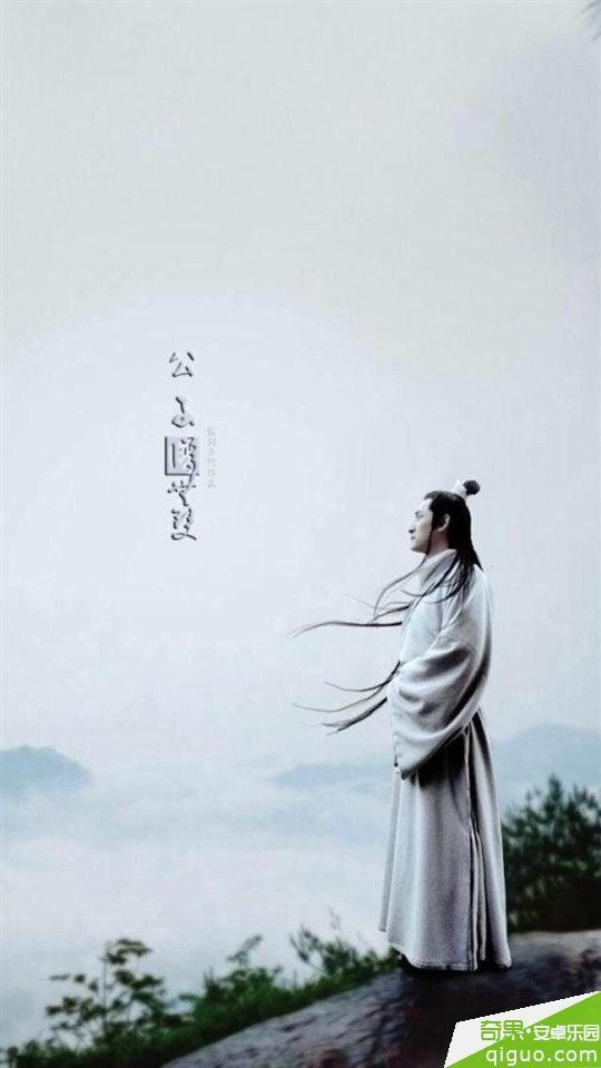 琅琊榜梅长苏胡歌唯美海报桌面壁纸640*960[多图]