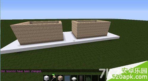 我的世界简易小别墅制作过程